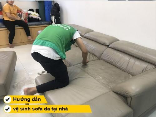 Hướng dẫn cách vệ sinh ghế sofa da tại nhà