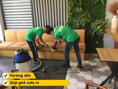 Hướng dẫn cách giặt ghế sofa nỉ